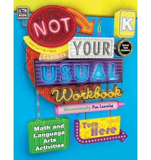 Not Your Usual Workbook, Grade K (Paperback) - image 1 of 1