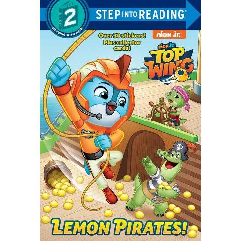 Lemon Pirates! -  (Step Into Reading. Step 2) by Mary Man-Kong (Paperback) - image 1 of 1