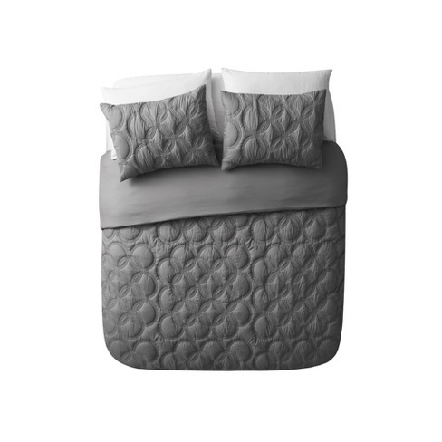 Atoll Embossed Bed in a Bag Comforter Set - VCNY HOME - image 1 of 2