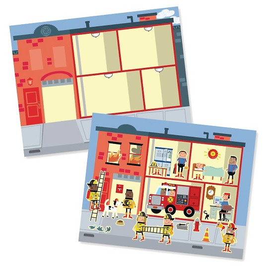 Melissa Doug Reusable Sticker Pads Set Habitats Vehicles Town 115 Stickers