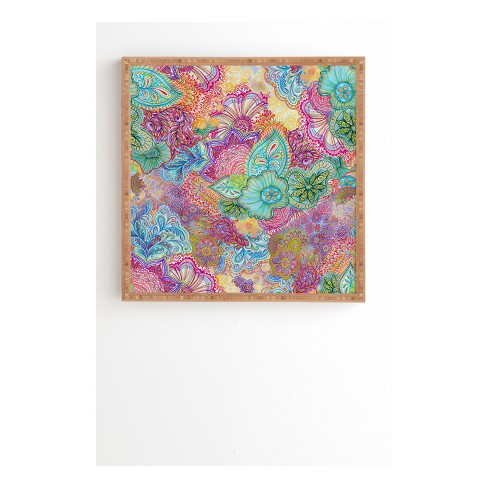 Stephanie Corfee Flourish Allover Framed Wall Art - image 1 of 1