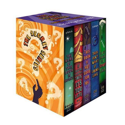 The Secret Series Complete Collection - by  Pseudonymous Bosch (Paperback) - image 1 of 1