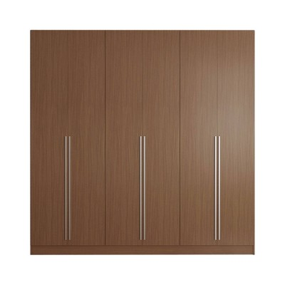 Eldridge Freestanding Wardrobe Maple Cream - Manhattan Comfort