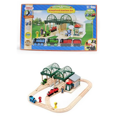 Ertl Thomas & Friends Thomas Talking Railway Knapford Station Set - image 1 of 1