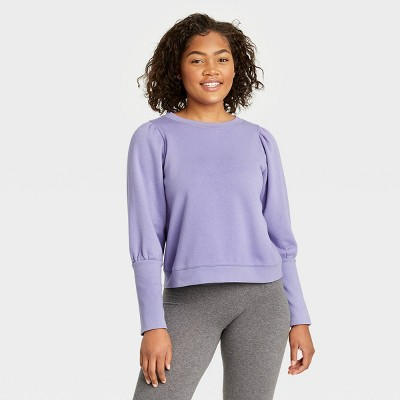 Women's High Cuff French Terry Sweatshirt - A New Day™