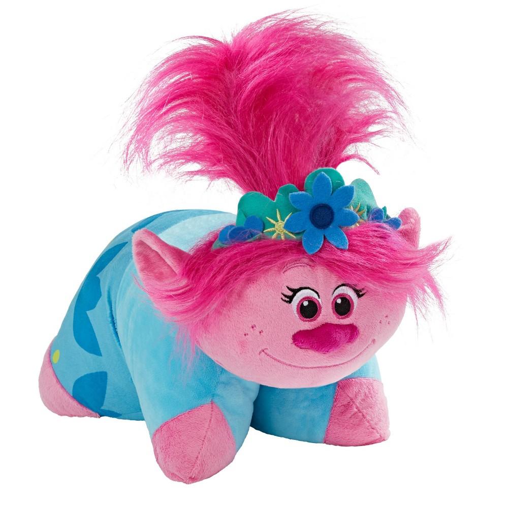 Image of DreamWorks Trolls World Tour Poppy Pillow Pink - Pillow Pet