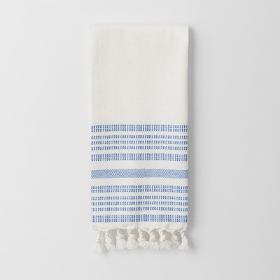 Blue Stripe Kitchen Towel - Threshold™