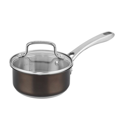 Cuisinart In the Mix 1qt Stainless Steel Redefine Cooking Open Pour Saucier - image 1 of 4