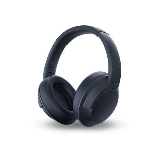 TCL Wireless Over the Ear Headphones - Midnight - image 1 of 3