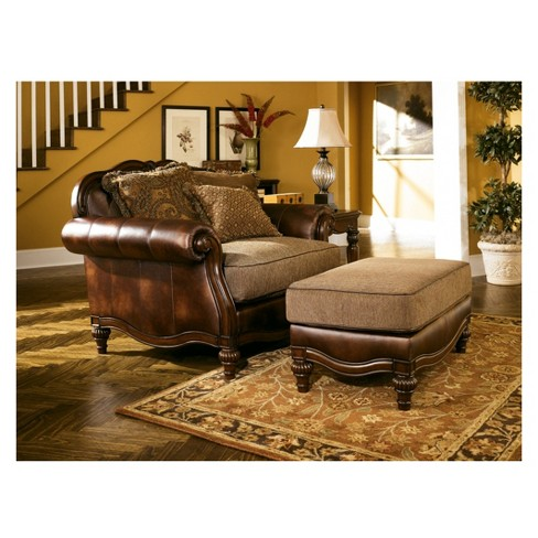 + 1 more - Accent Chairs Antique Wood - Signature Design By Ashley : Target