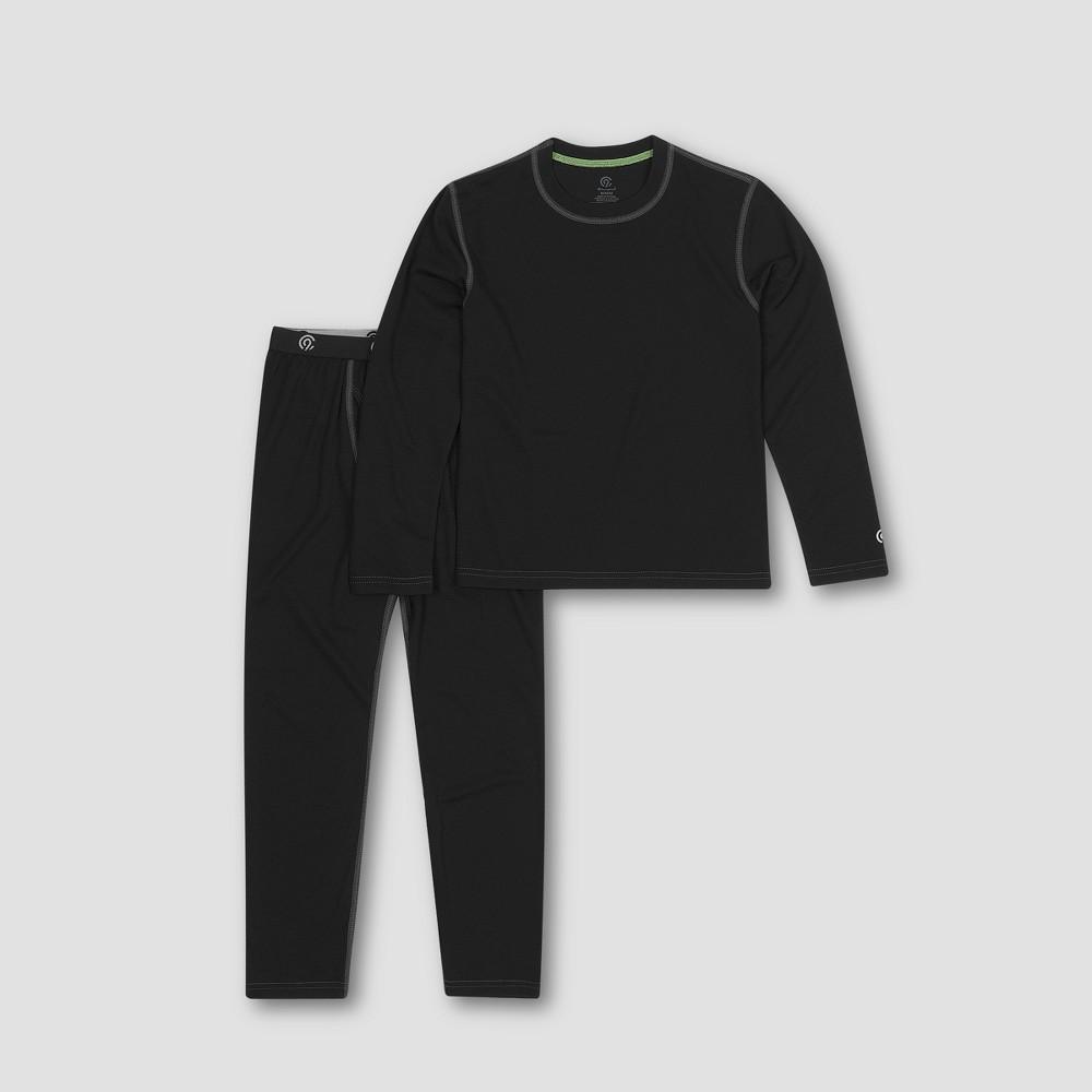 Boys' Lightweight Thermal Underwear Set - C9 Champion Black S thumbnail