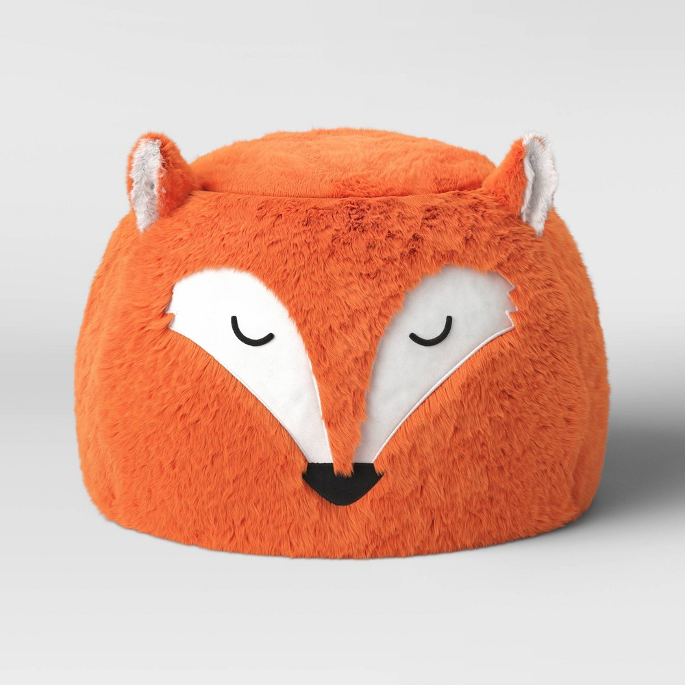 Image of Character Pouf Fox - Pillowfort , Orange