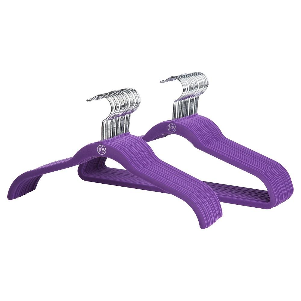 Image of 40pk Huggable Hanger - Purple