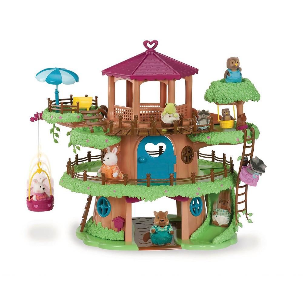 Li'l Woodzeez Family Treehouse Playset