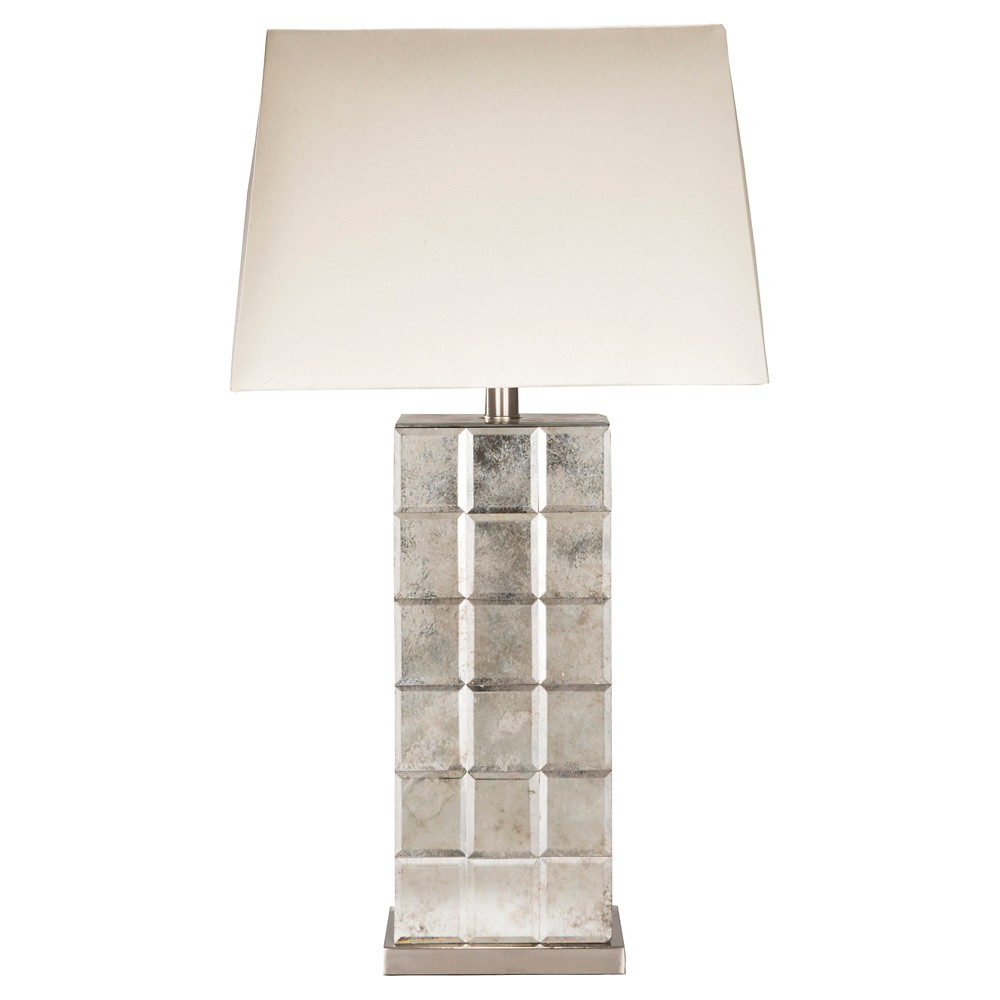 Selker Table Lamp - Silver (Lamp Only)