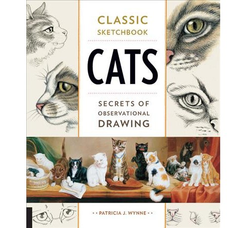 Cats : Secrets of Observational Drawing (Paperback) (Patricia J. Wynne) - image 1 of 1