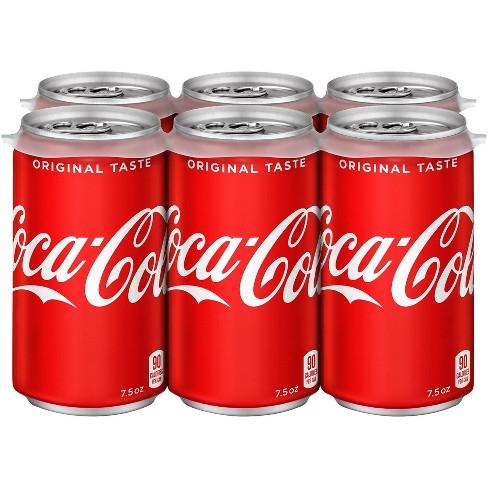 Coca-Cola - 6pk/7.5 fl oz Cans - image 1 of 4
