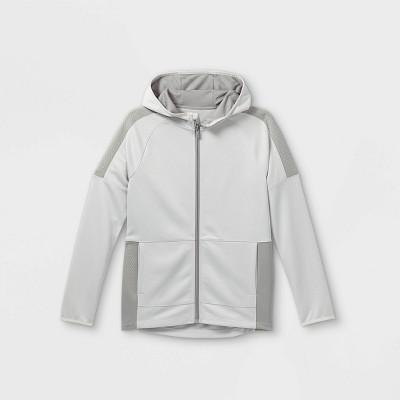 Boys' Pieced Full Zip Hooded Sweatshirt - All in Motion™