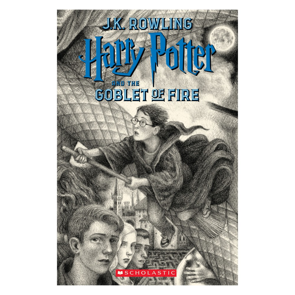 Harry Potter and the Goblet of Fire - (Harry Potter) by J. K. Rowling (Paperback)