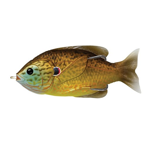 LiveTarget Lures Sunfish Hollow Body Lure - Copper Pumpkinseed - 3