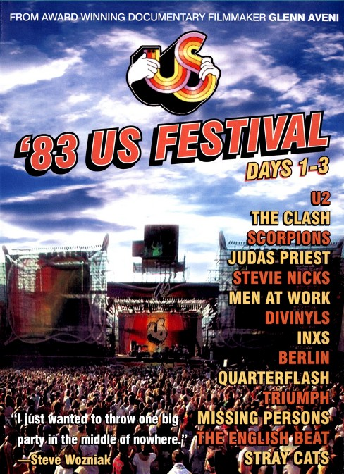 Us festival 1983:Days 1-3 (DVD) - image 1 of 1