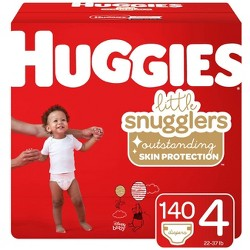 Huggies Little Snugglers Diapers - Size 4 (140ct)