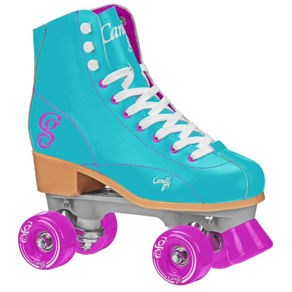 Roller Derby Candi Girl Sabina Women's Roller Skate - Mint - 07, Women's, Pink Blue