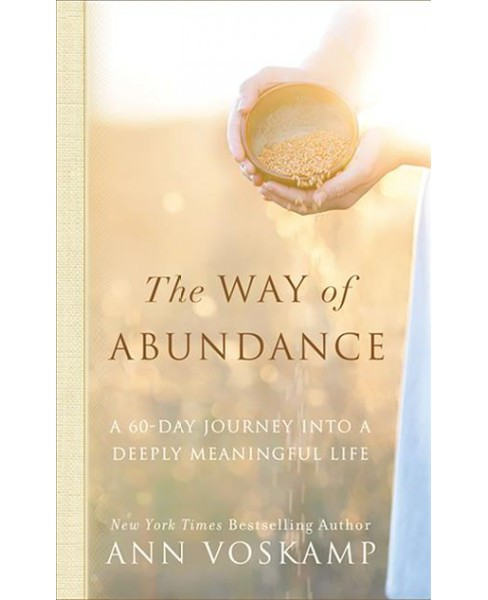 Way of Abundance : A 60-day Journey into a Deeply Meaningful Life - Unabridged by Ann Voskamp (CD/Spoken - image 1 of 1