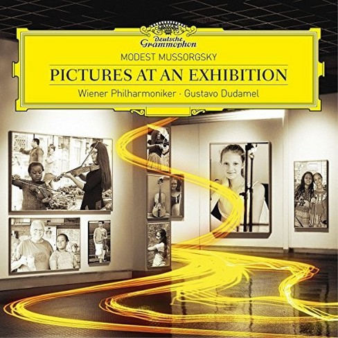 Gustavo Dudamel - Mussorgsky:Pictures At An Exhibition (CD) - image 1 of 1