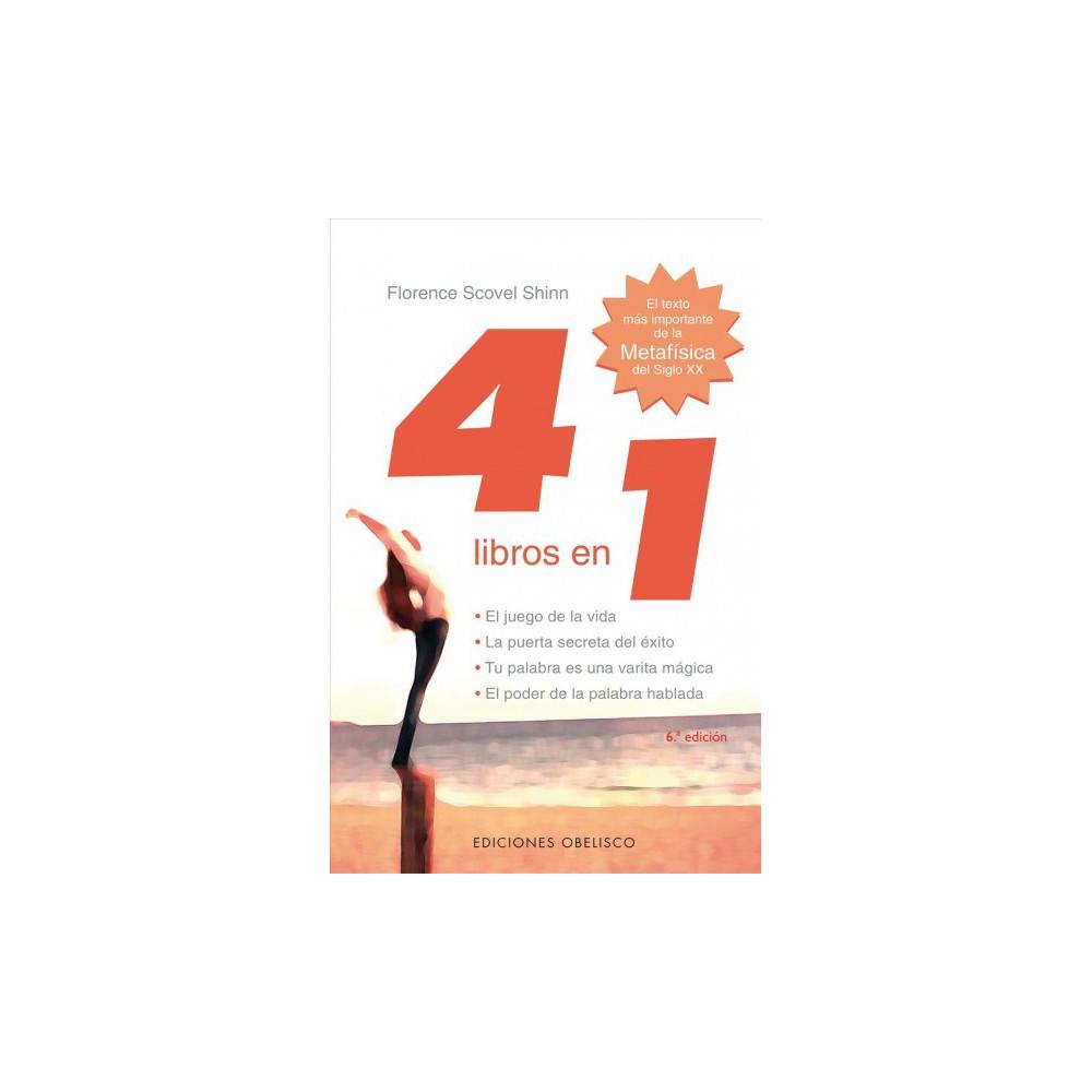 4 Libros En 1 : el juego de la vida, el poder de la palabra hablada, la puerta secreta del exito, tu
