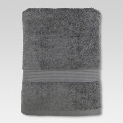 Performance Bath Towel Radiant Gray - Threshold™