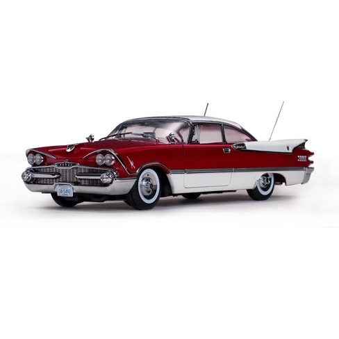 1959 Dodge Custom Royal Lancer Closed Convertible Ruby and Pearl Platinum Edition 1/18 Diecast Model Car by Sunstar - image 1 of 4