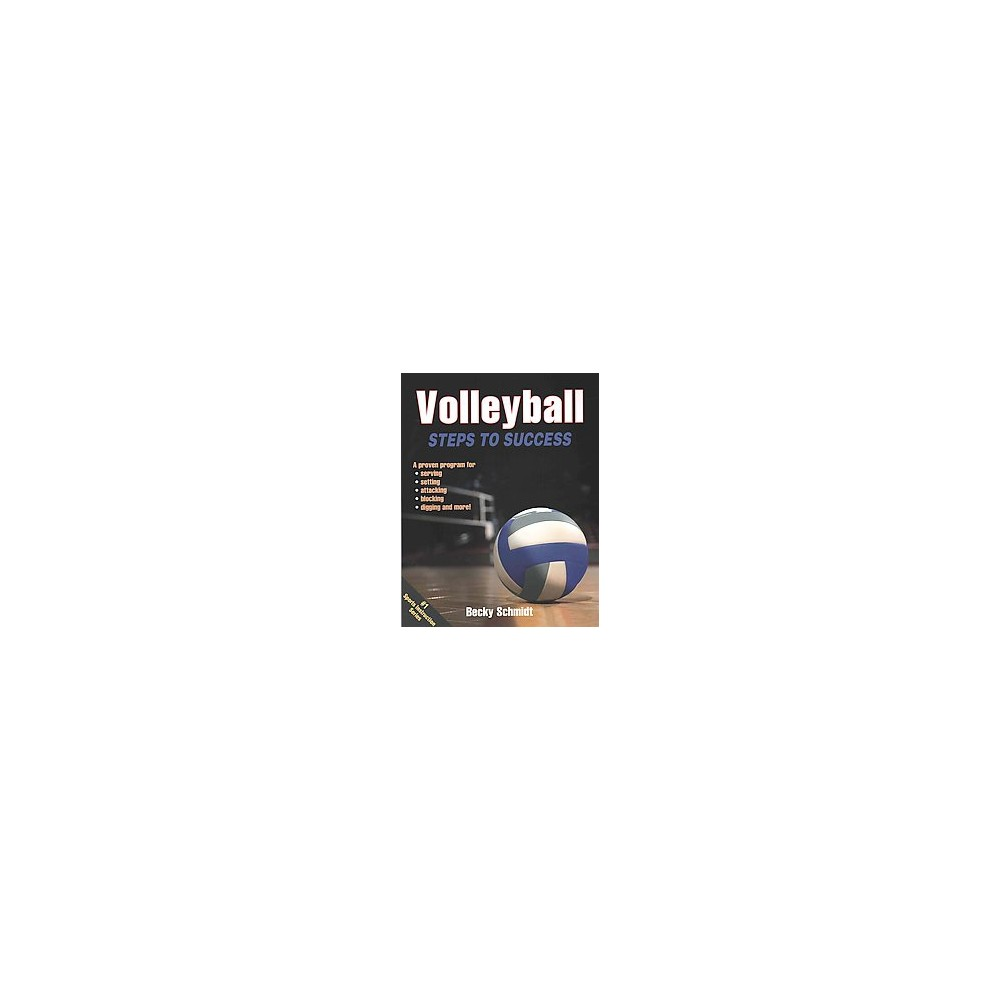 Volleyball Steps to Success (Paperback) (Becky Schmidt)
