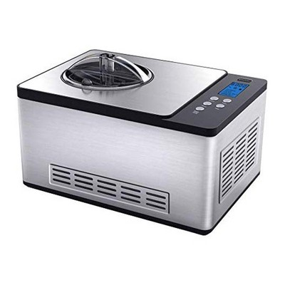 Whynter ICM-220SSY 2 Quart Capacity Ice Cream Maker & Yogurt Incubator with Stainless Steel Bowl