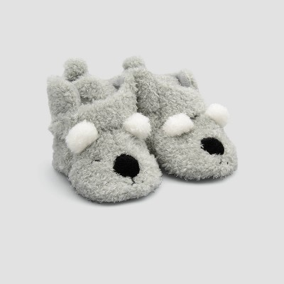 Baby Koala Slippers - Just One You® made by carter's Gray Newborn