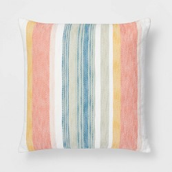 Oversized Woven Stripe Pillow - Threshold™
