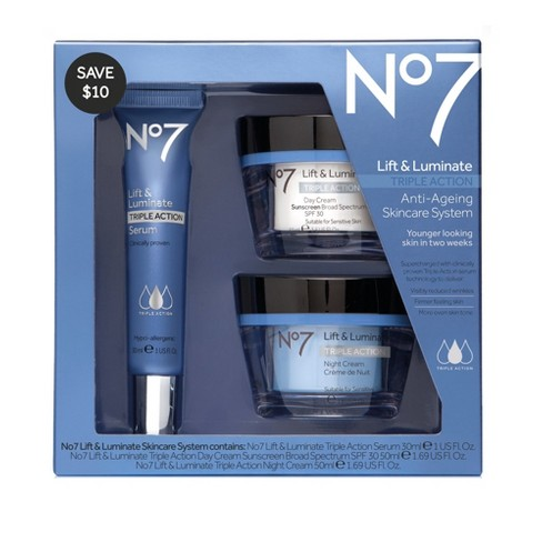 2ffe203504f No7 Lift & Luminate Triple Action Skincare System : Target