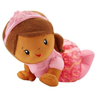 Fisher-Price Princess Mommy Touch 'n Crawl Princess African-American Doll