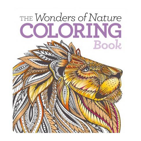Wonders Of Nature Coloring Book Paperback Target