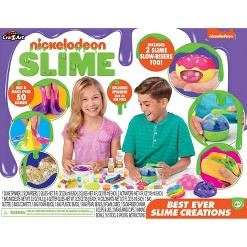 Nickelodeon Best Ever Slime Creations Kit by Cra-Z-Art, Adult Unisex