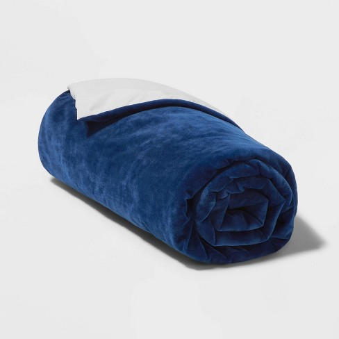 """60""""x40"""" 6lbs Waterproof Removable Cover Weighted Blanket - Pillowfort™ - image 1 of 4"""