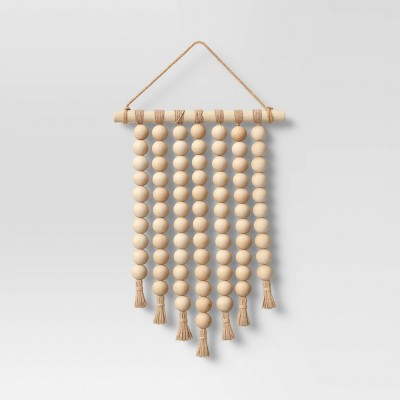 Wooden Bead Hanging Tapestry - Opalhouse™