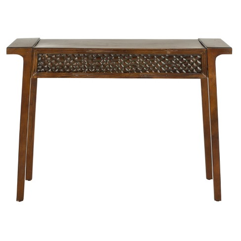 Raymond Console Table Brown - Safavieh® - image 1 of 5