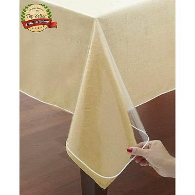 GoodGram Crystal Clear Heavy Weight Tablecloth Protector/Cover