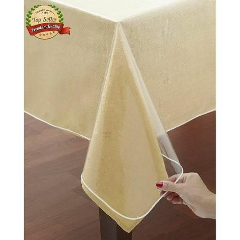 GoodGram Crystal Clear Heavy Weight Tablecloth Protector/Cover - image 1 of 1