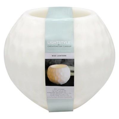 Fragrance Free Large Lantern - White Sphere - Chesapeake Bay Candle