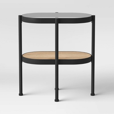 Virden Mixed Material Pill Accent Table - Project 62™