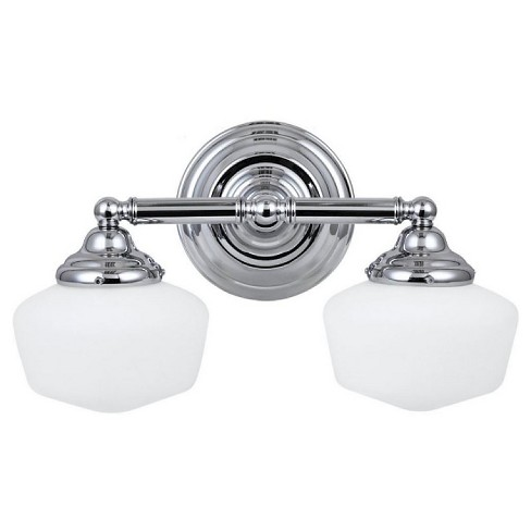 Sea Gull Lighting Academy Two Light Bath Sconce - Chrome - image 1 of 2
