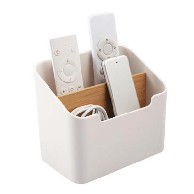 Zodaca Remote Control Holder, Desk Storage Organizer Container for Home & Office