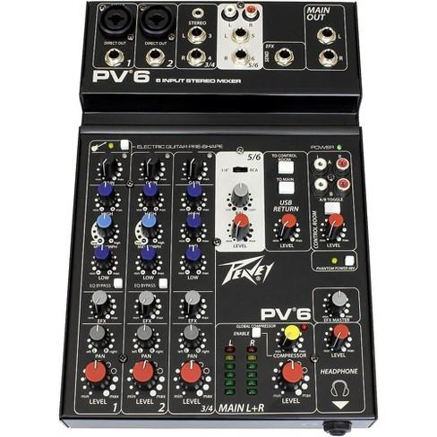 Peavey PV 6 Mixer - image 1 of 4